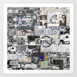 classic cam's pattern Art Print
