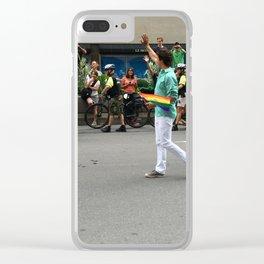 Justin Trudeau Pride Clear iPhone Case