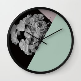 boquet too Wall Clock