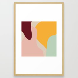 Ziz Abstract Painting Framed Art Print