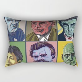 Thinkers Rectangular Pillow
