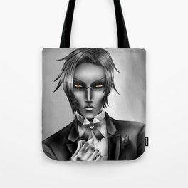Monochrome Claude Faustus Tote Bag
