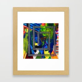 Snakes and Ladders series 2 Framed Art Print
