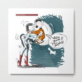 TCHIKIBOUMTHCHIBOUM - Brèves de l'Empire Galactique - Gerald Robin Graphicdesign © Metal Print