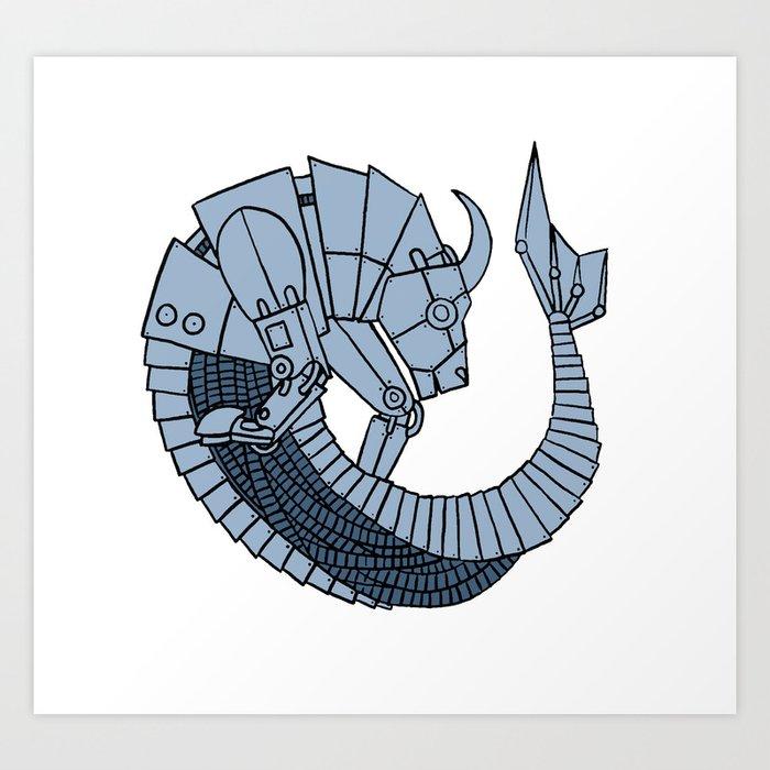 Capricorn 2 Art Print