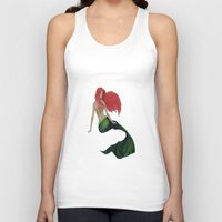 mermaid Tank Tops featuring mermaid by ArtSchool