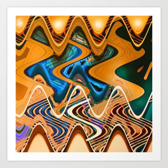 lava70 Art Print