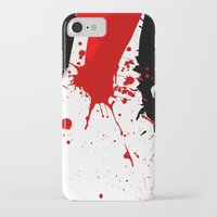in the flesh iPhone & iPod Cases featuring Flesh Cutter by Kellie Anne