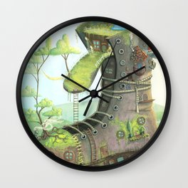 There was an old woman... Wall Clock