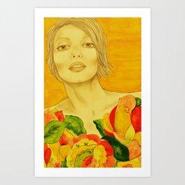 Flowers serie Art Print