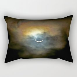 Solar Eclipse 2 Rectangular Pillow