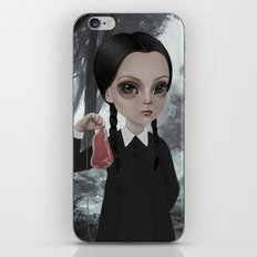 Wednesday Addams iPhone & iPod Skin