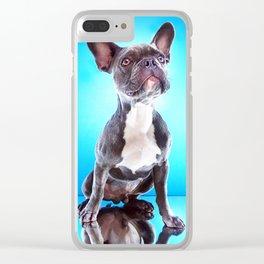 Super Pets Series 1 - Super Bailey Clear iPhone Case
