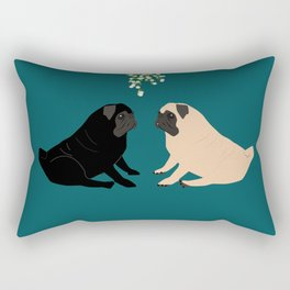 Christmas Couple Rectangular Pillow