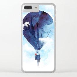 Bye Bye Balloon Clear iPhone Case