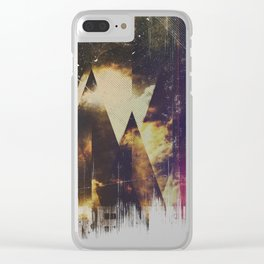 The mountains are awake Clear iPhone Case