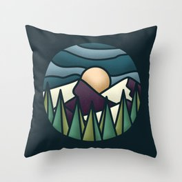 Great Landscape Throw Pillow