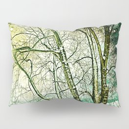 melancholic tree Pillow Sham
