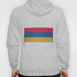 Flag of Armenia. The slit in the paper with shadows.  Hoody