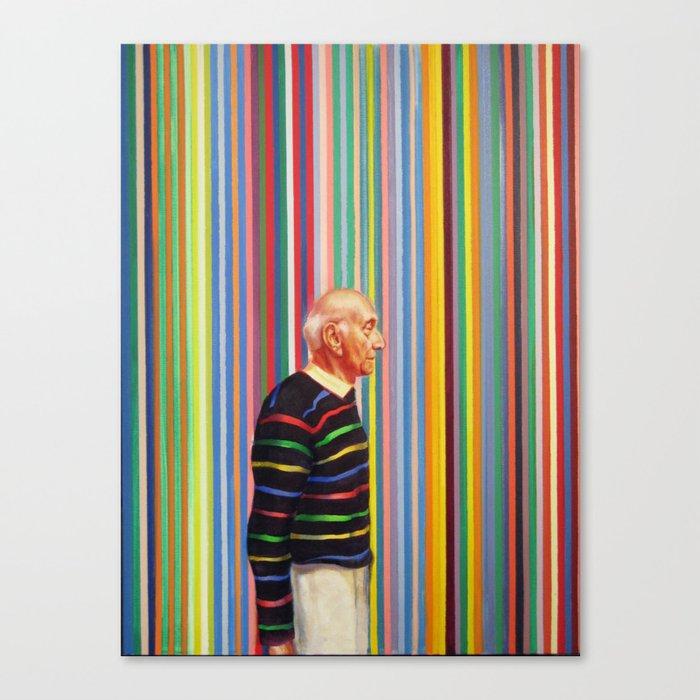 Art Patron #1 Canvas Print