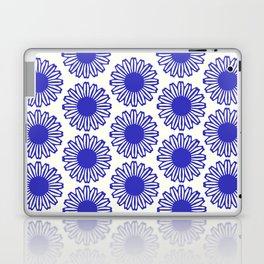 vintage flowers blue  Laptop & iPad Skin