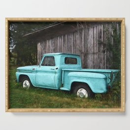 To Be Country - Vintage Truck Art Serving Tray