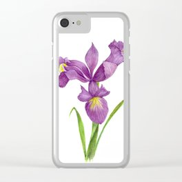 Iris Clear iPhone Case