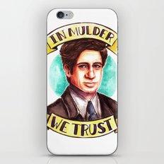 In Mulder We Trust iPhone & iPod Skin