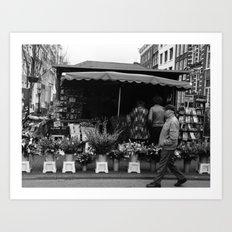 tulips from amsterdam Art Print