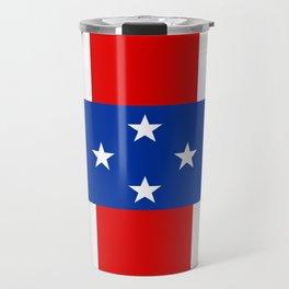 Dutch Caribbean Flag Travel Mug