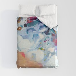 the sea on the beach abstract art Comforters