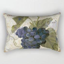 Tuscan Table Noir Rectangular Pillow