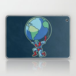The Weight of the World Laptop & iPad Skin
