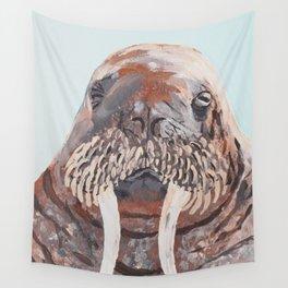 Mr. Walrus Wall Tapestry