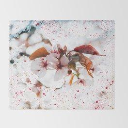 Splash of Spring Throw Blanket