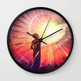 Healing Wall Clock