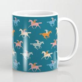 Naked derby dark blue Coffee Mug