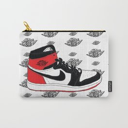 Jordan 1 Black Toe Carry-All Pouch