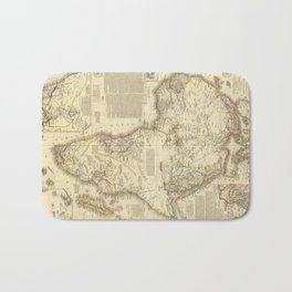 Vintage Map of Africa (1828) Bath Mat