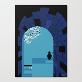 A glimpse of Ancient Greece Canvas Print