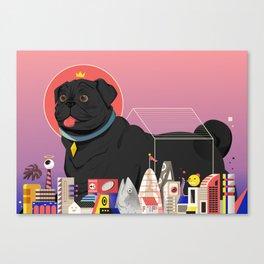 Casa Canis Canvas Print