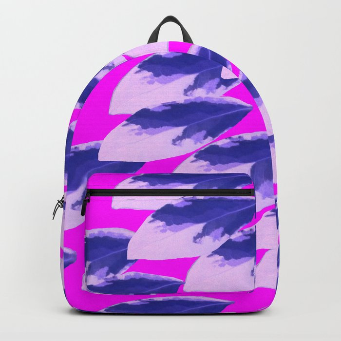 When All of the Leaves Burned Blue Backpack