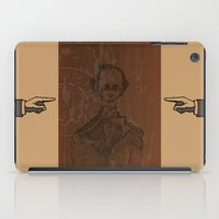 wes anderson iPad Cases featuring Hans Christian Anderson by Hazel Bellhop