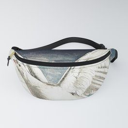Peace - Watercolor Vintage Painting Fanny Pack