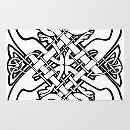 Celtic dogs 1 Rug
