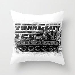 75mm gun T22 Throw Pillow