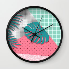 Santa Monica #society6 #decor #buyart Wall Clock