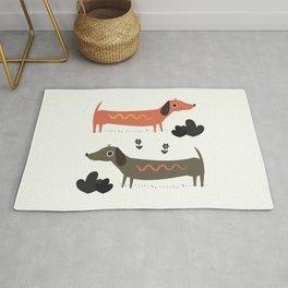 Wiener Dogs Rug