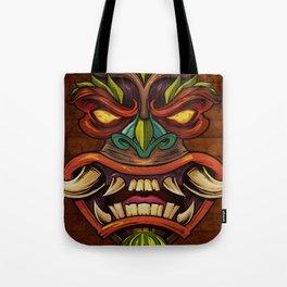 Tiki Head Style 4 Tote Bag