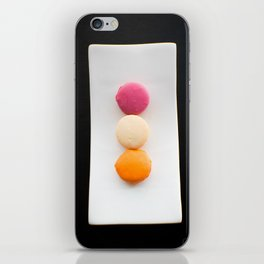 The Art of Food Macarons iPhone Skin